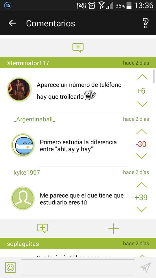 Argentina boluda - meme