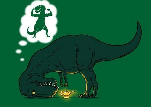 T-rex - meme