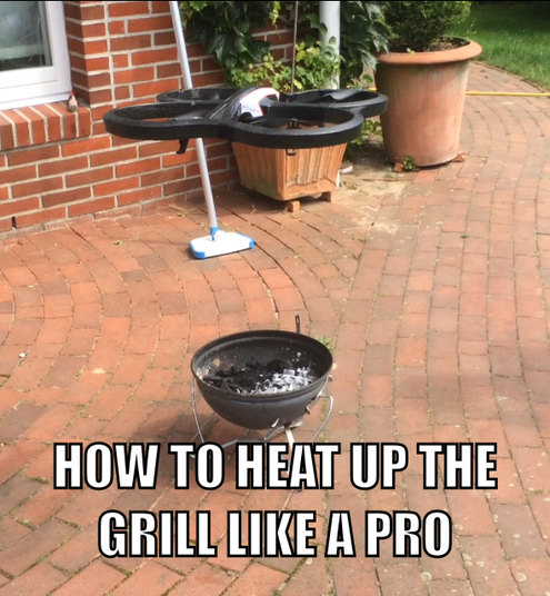 Heat up the Grill - meme