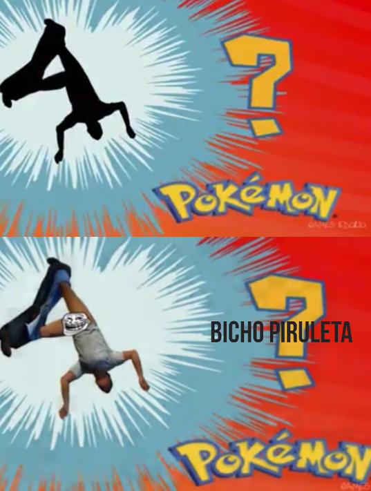 Quem é esse pokemon? - meme