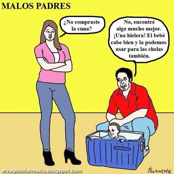 malos padres! - meme