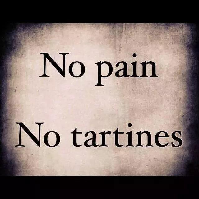 No pain, no gain - meme
