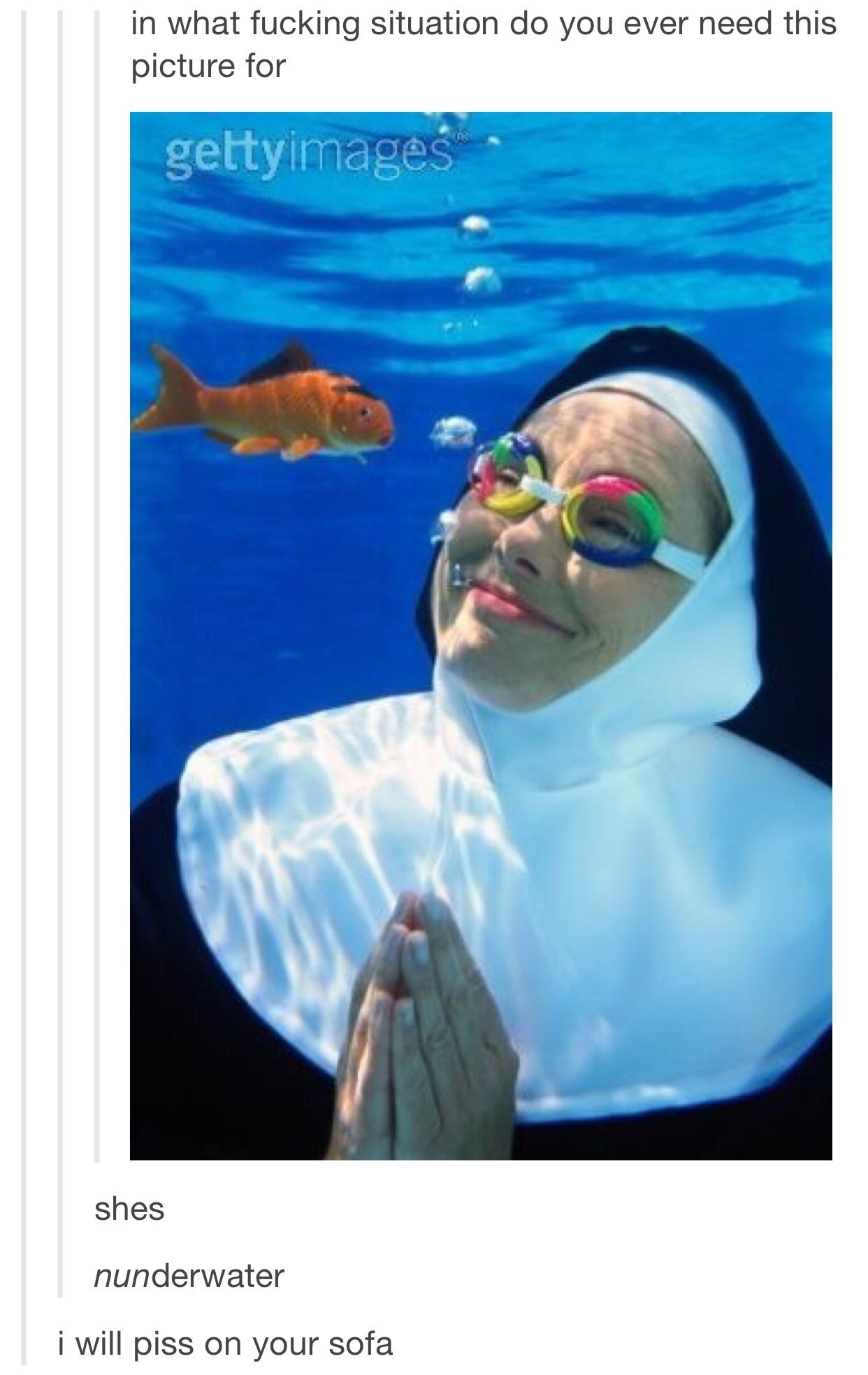 nunderwater - meme