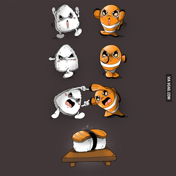 Fusion sushi - meme