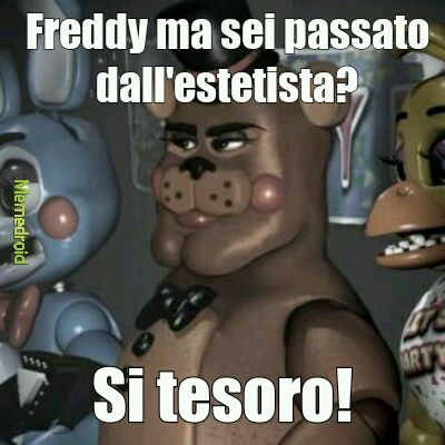 I segreti di Five Nights At Freddy's - meme