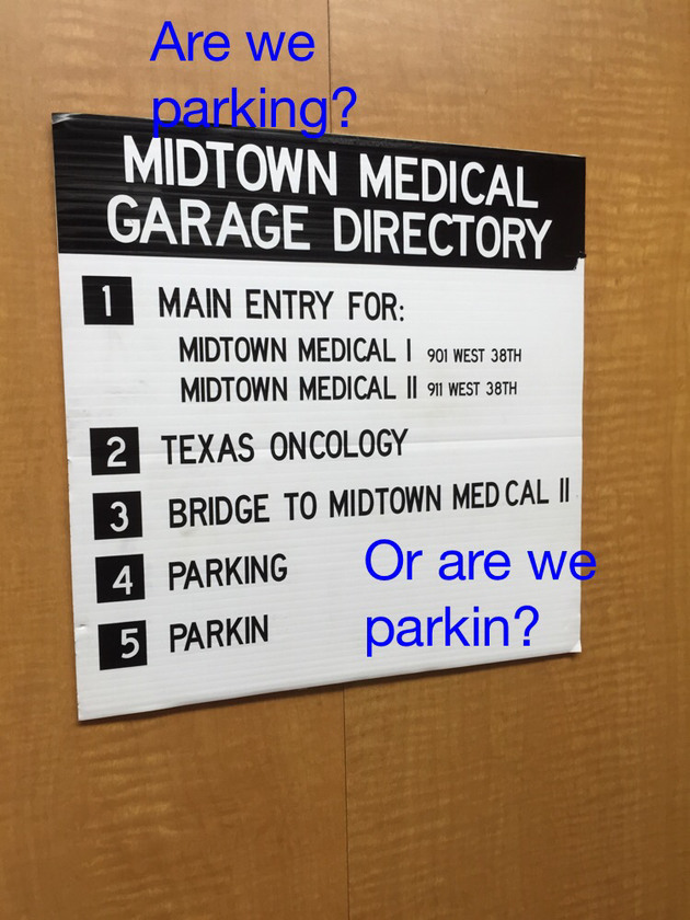 How to park - meme