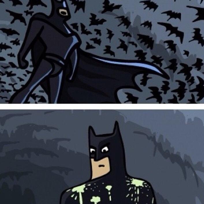 Открытки новый, картинка я бэтмен прикольные