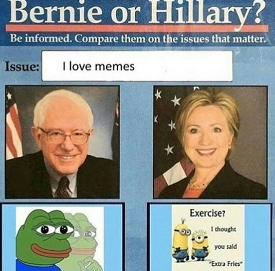 fokin hillary - meme