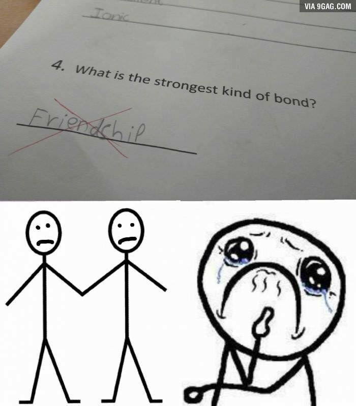 the correct answer is James Bond! - meme