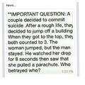 Who betrayed who?