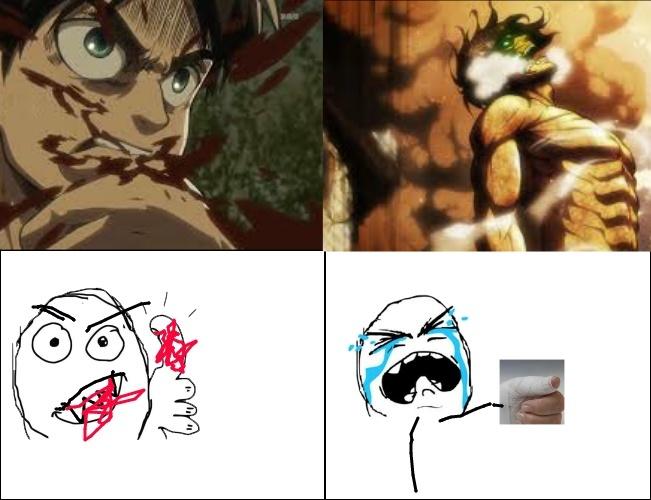 Shingeki No Kyojin <3 - meme