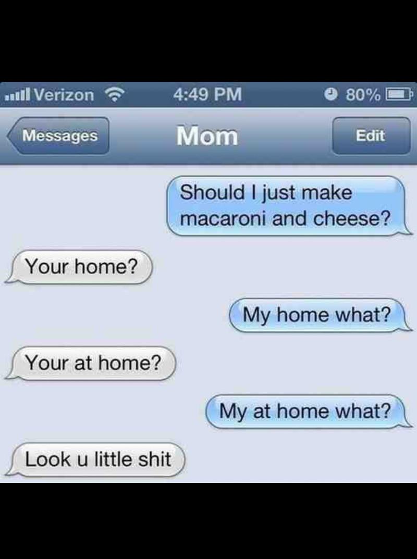Dammit mom - meme