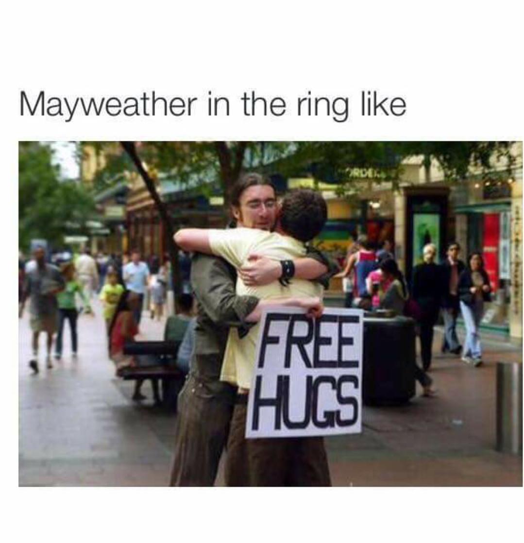 Mayweather is something else - meme