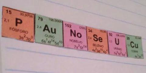 Aprendendo química - meme