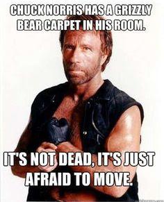 Chuck Norris is bad ass - meme