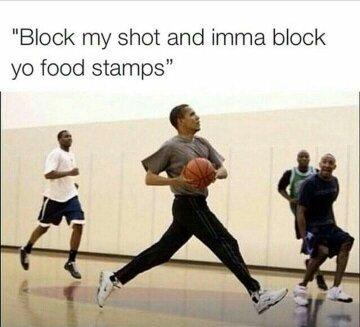 Obama not messing around - meme