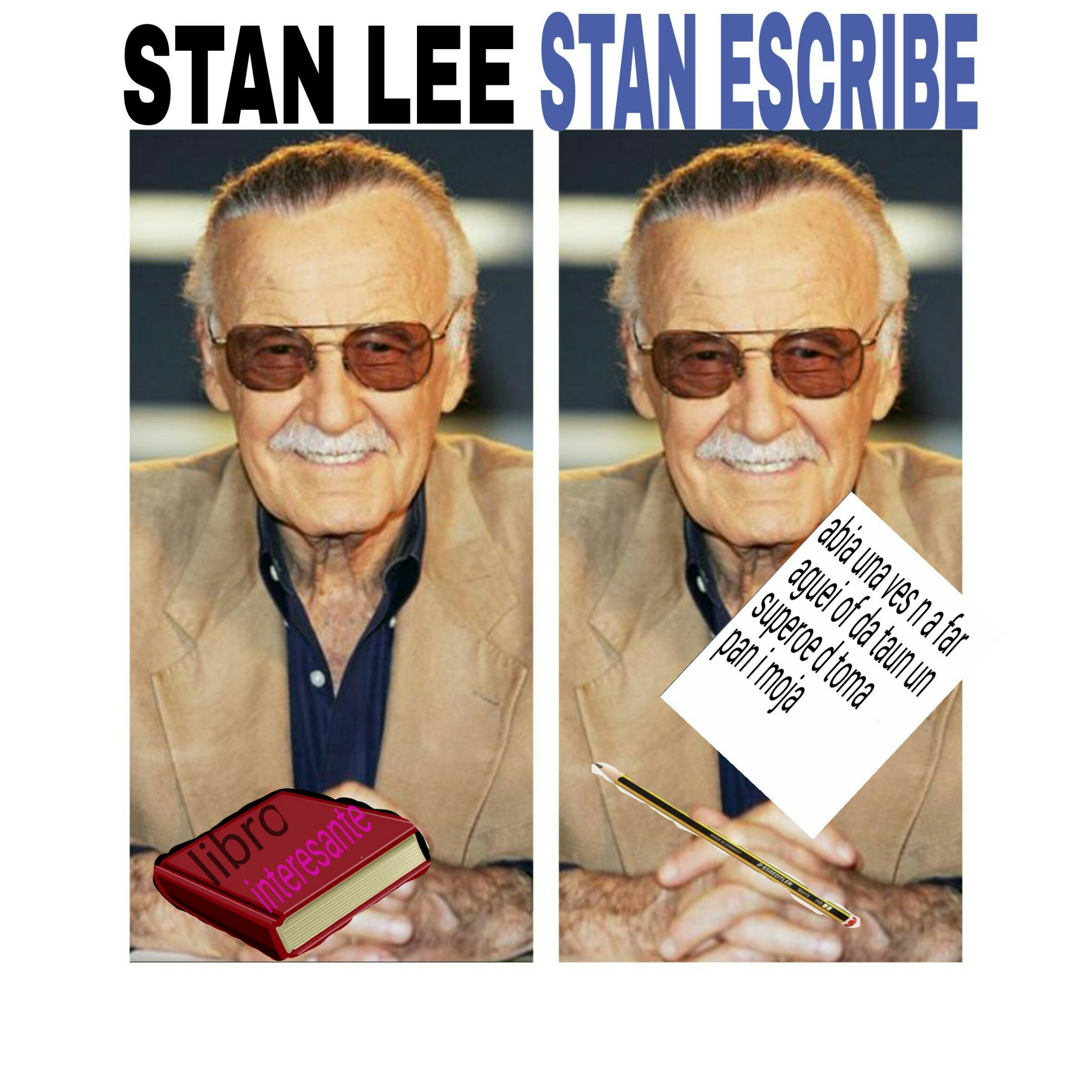 stan lee (no me lo copien!!) - meme