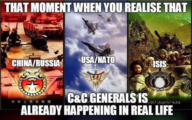 C&C Generals is becoming real - meme