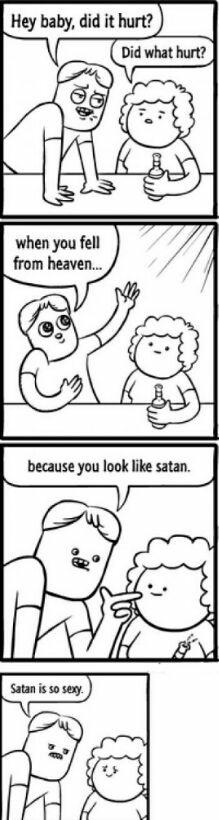 I would bang satan - meme