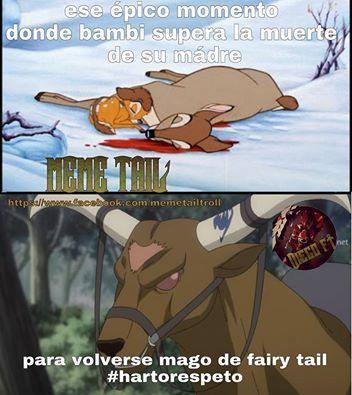 Pinche bambi - meme