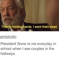 President Snow speaks the truth..