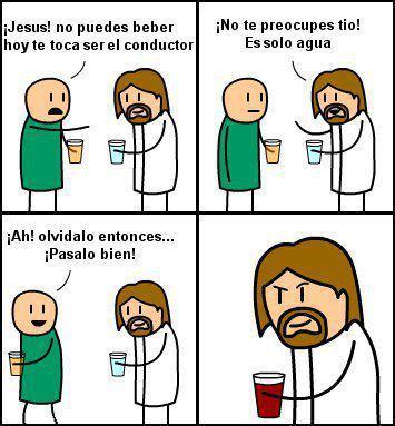 Jesus es todo un loquillo - meme