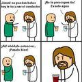 Jesus es todo un loquillo