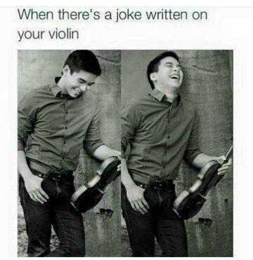 The jokes on you - meme