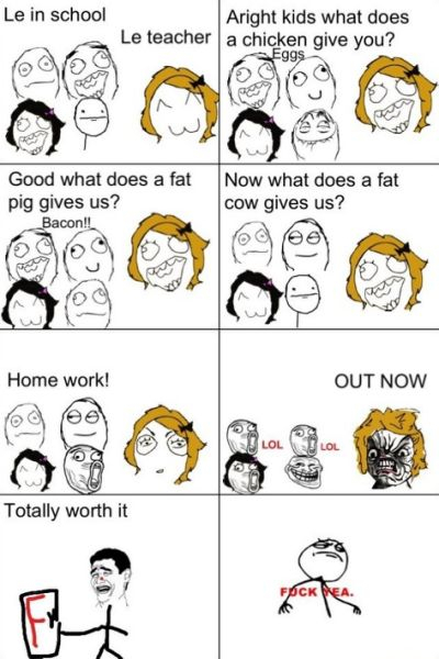 6th comment is a fat cow - meme