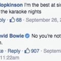 Bowie was the greatest