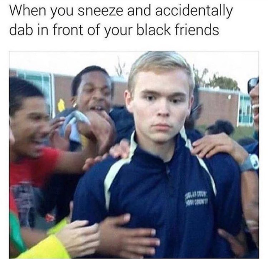 Try not to sneeze - meme