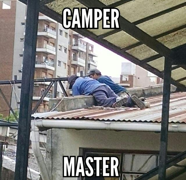 Camper Master - meme