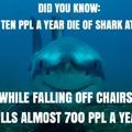 Sharks n' chairs