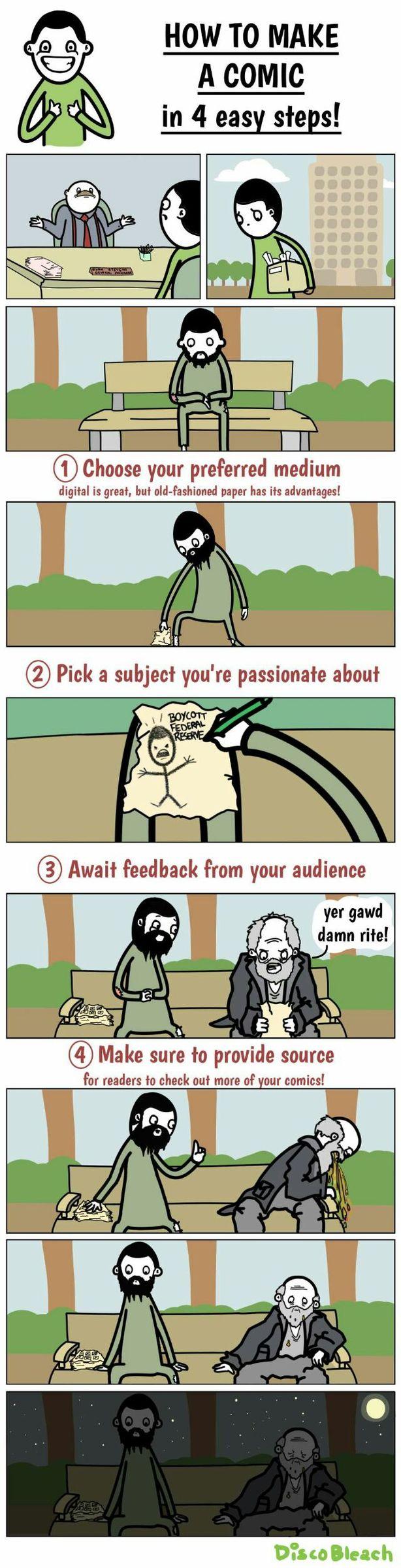 how to draw comics - meme
