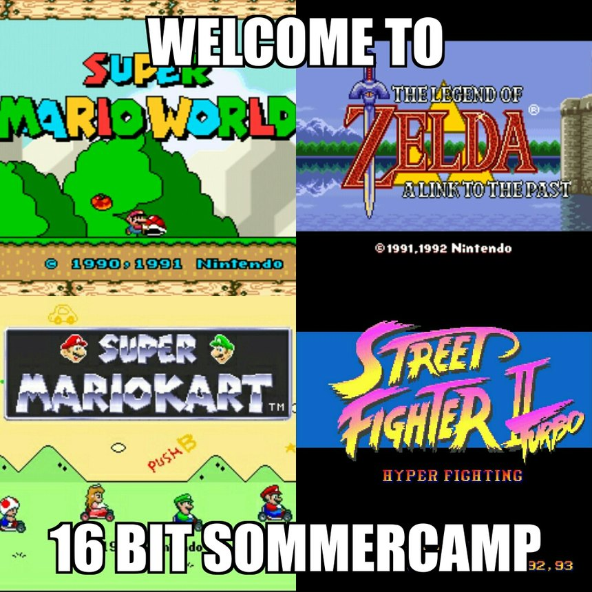 found my old snes - see you in autumn - meme