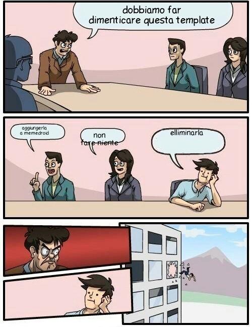 Boardroom - meme