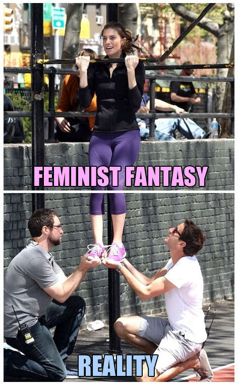 Bring it on feminazi's - meme