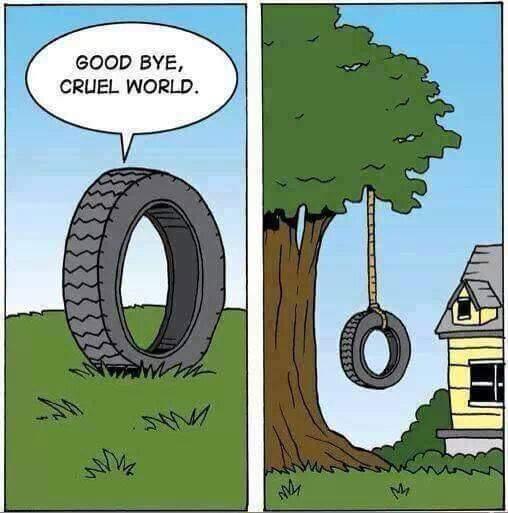 La vie d'un pneu - meme