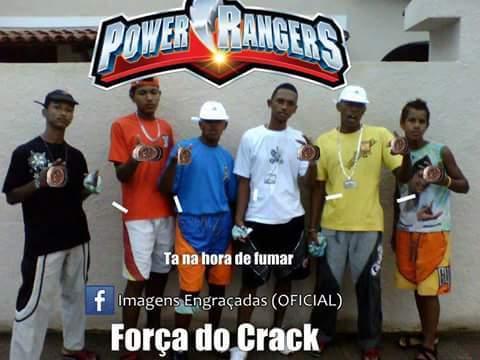 Força do Crack ahahsuahauaha - meme