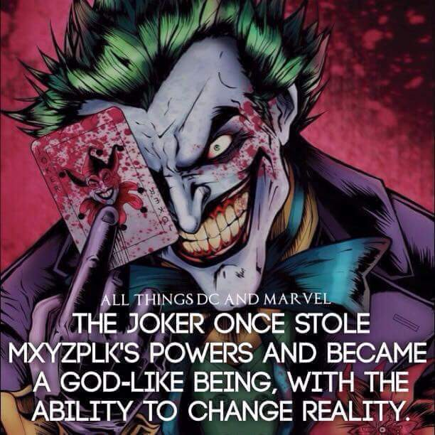 When the Joker jokes no one ever laughed... - meme