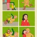 Los cocodrilos son muy peligrosos.