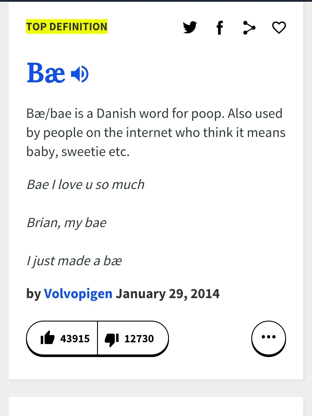 Guys, fyi, that's what bae also means... - meme
