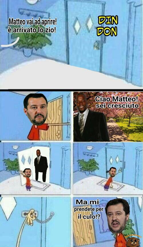 Matteo Salvini (°|°). Cito tu che stai upvotando :-) - meme