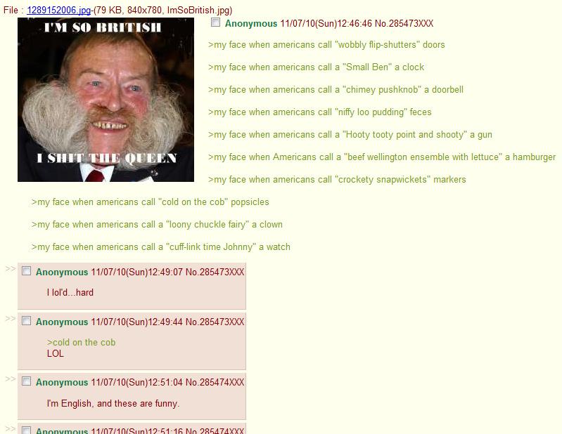 Brits - meme