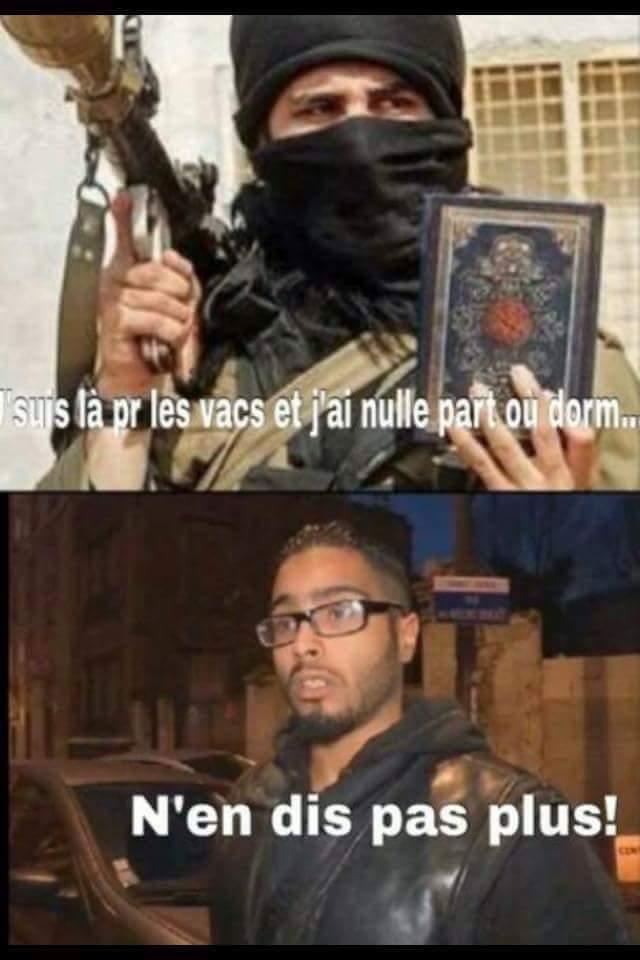 Le logeur de daesh - meme