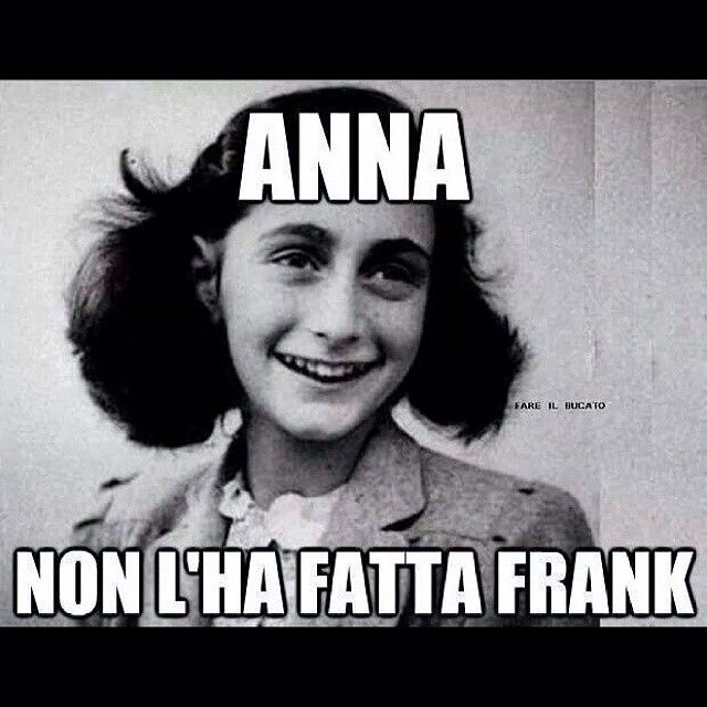 Mi spiace Anna - meme