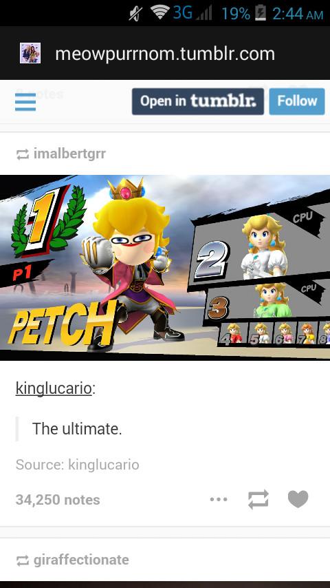 Petch - meme
