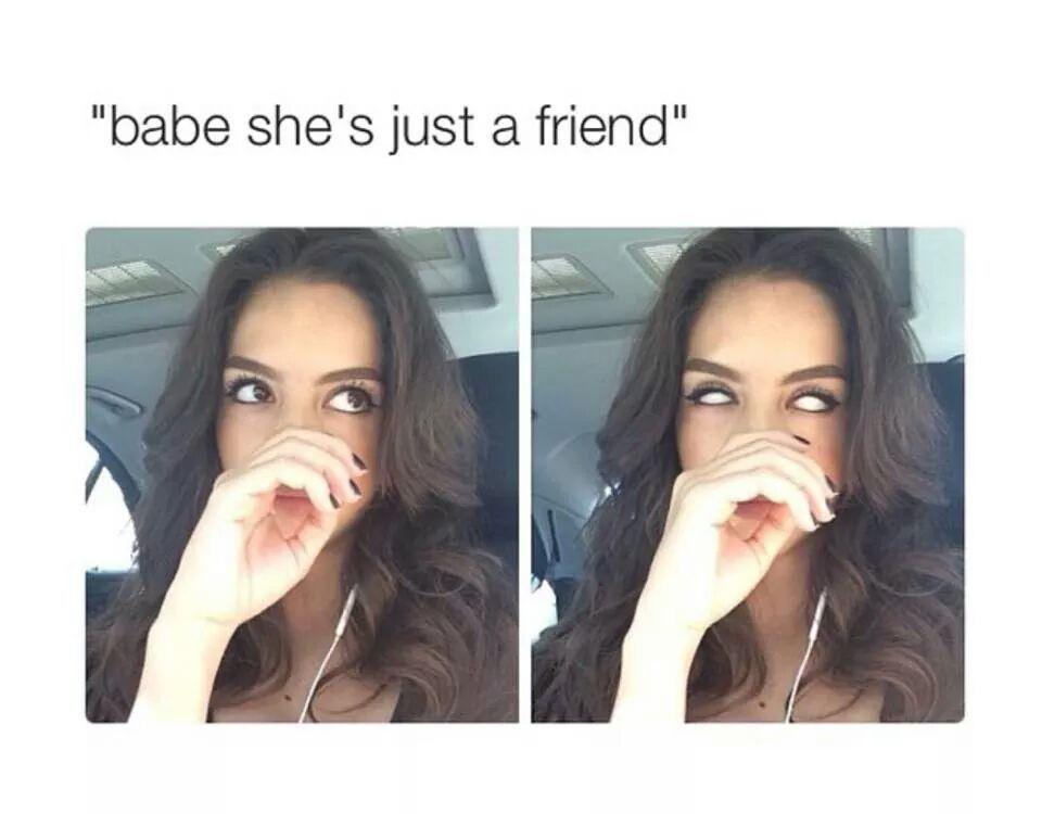 sure...a friend - meme