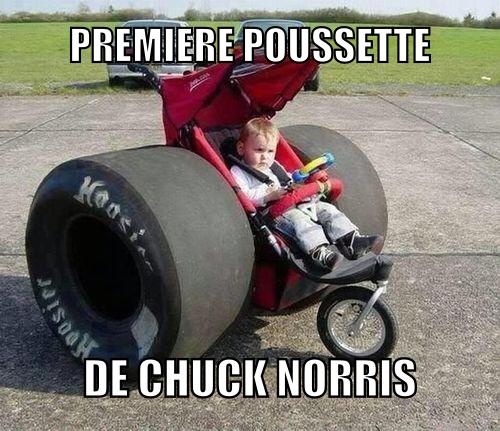 Chuck norris, badass des son plus jeune age - meme