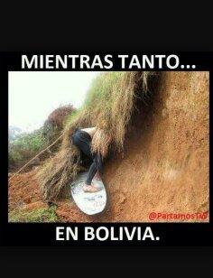 las olas en bolivia sin ofender - meme
